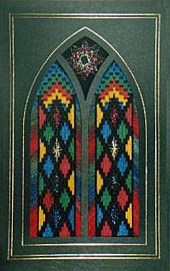 Stained Glass Window Card 1
